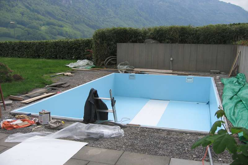 Folienauskleidung badipool schwimmbad 18 badipool for Schwimmbad folienauskleidung