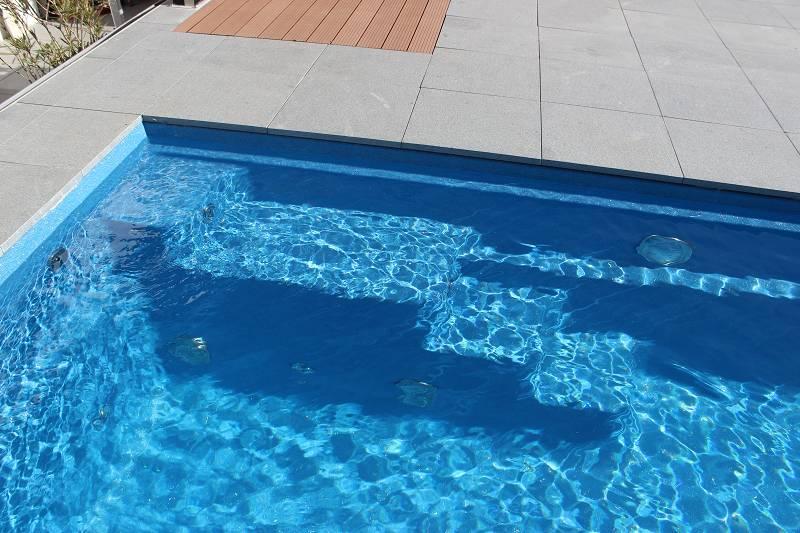 Beckenrandsteine Pool Umrandung
