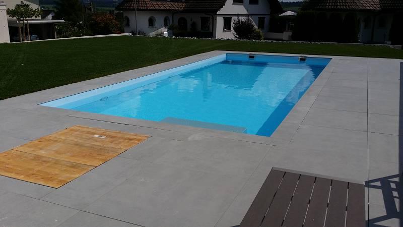 Betonbecken betonpool mit folie badipool schwimmbadbau 3 for Folienauskleidung pool