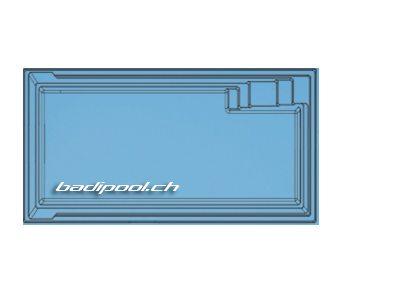 5.30×3.20×1.50m | XL-AQUA NOVA 53 | Flachboden